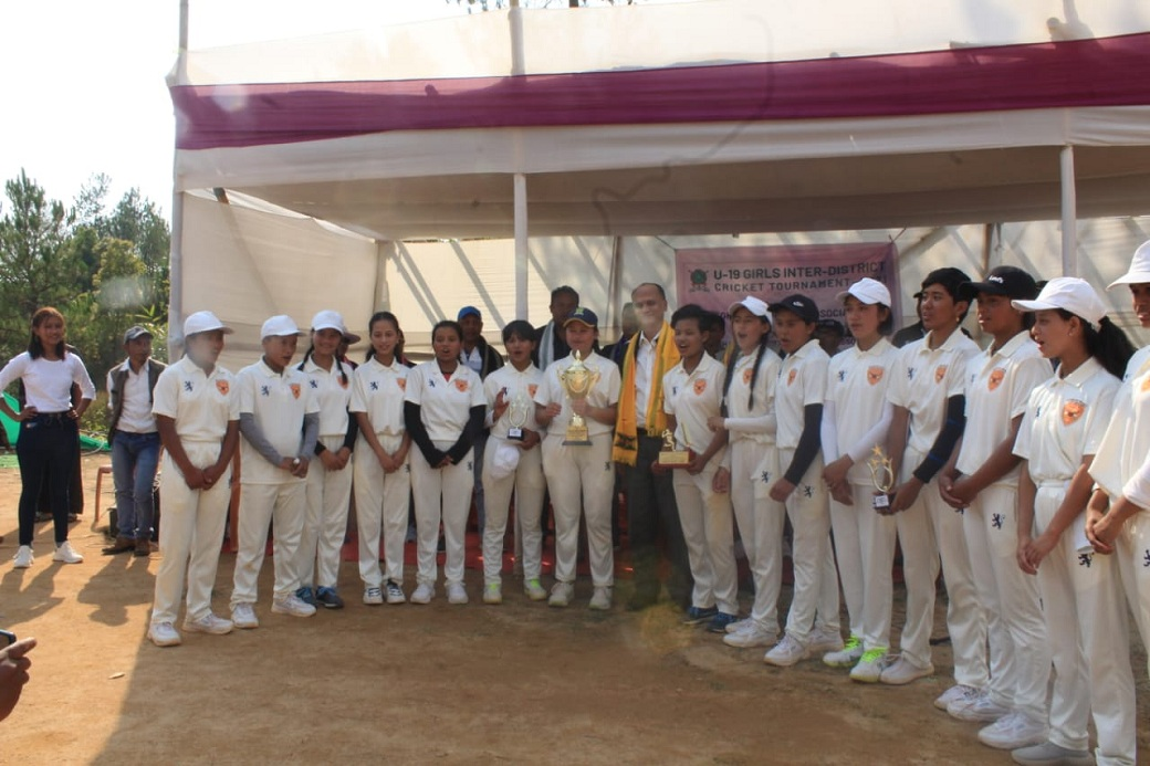 MCA U-19 Girls Cricket Tournament: West Khasi Hills victorious in final
