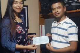 Rs. 1 lakh handed over to actress of 9-Lad