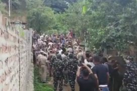 Meghalaya villagers clash with Assam police in Iongkhuli