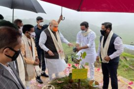 Amit Shah launches Green Sohra Afforestation Campaign