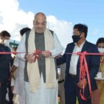 Inauguration of COVID-19 Step Down Hospital with Paediatric ICU at Umsawli by Union Home Minister Amit Shah on 24.07.2021