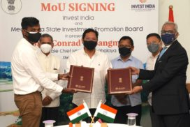 MoU inked with Invest India