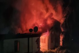 House partially gutted in fire incident