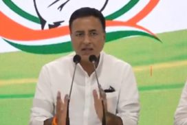 NPP: Use of terms like 'terrorists', 'Taliban' by Surjewala 'despicable'