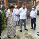Baghel interacts with beneficiaries of central government schemes