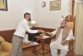 HFU meets Governor Satya Pal Malik to discuss welfare of farmers in state