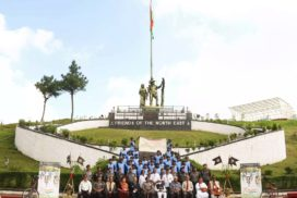 Assam Rifles flags off 'freedom cycle rally' to commemorate India's 75 years of independence