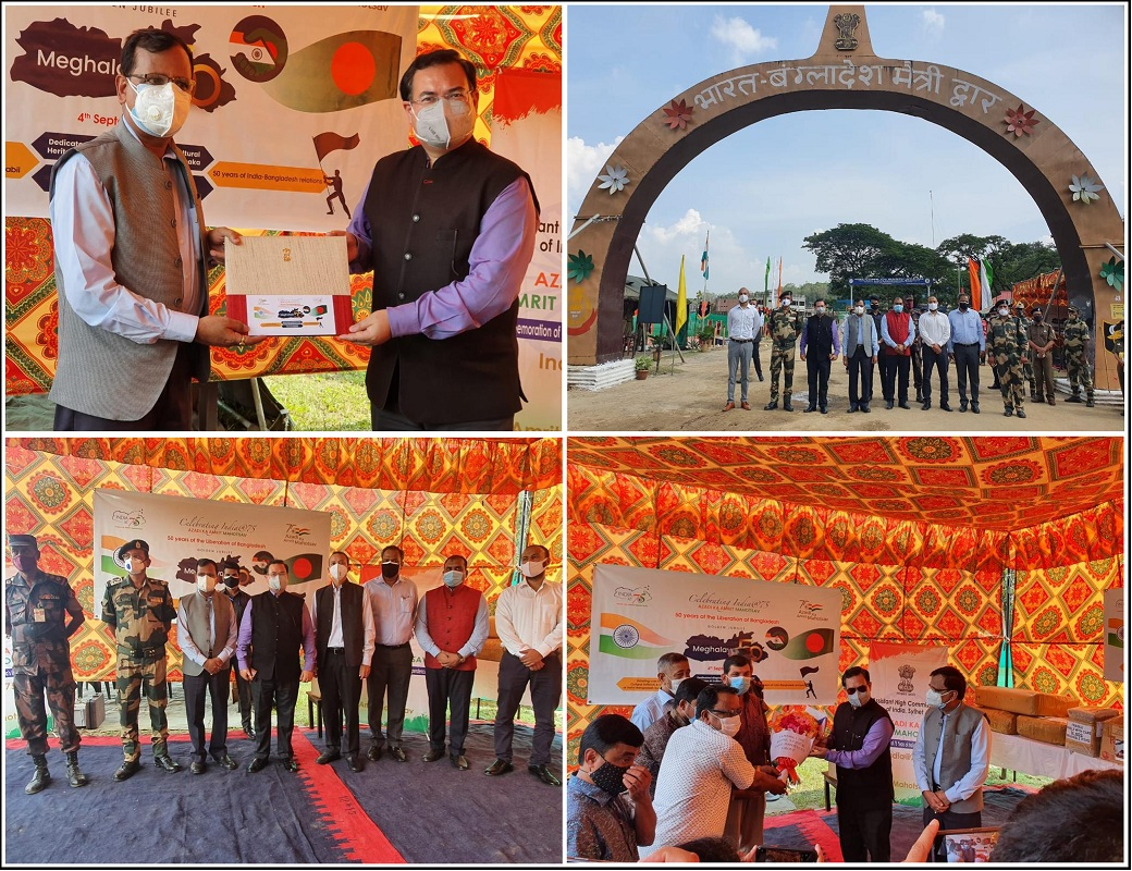 Meghalaya hands cultural artifacts & textile heritage to Indian High Commission in Dhaka 1