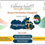 Meghalaya hands cultural artifacts & textile heritage to Indian High Commission in Dhaka