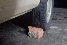 STP caution drivers on placing stones under car tyres