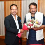 Union Minister of State for Law and Justice Prof S P Singh Baghel visits Shillong 1