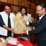 Union Minister of State for Law and Justice Prof S P Singh Baghel visits Shillong