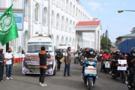 Bike rally and cleaning drive held